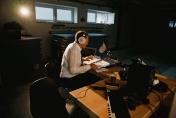 DWGradio im provisorischen Studio.