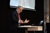 Den Abschlussvortrag hielt der Theologe Dr. Wolfgang Nestvogel.